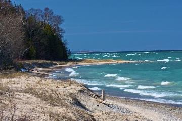 Christmas Cove Beach The Leelanau Conservancythe
