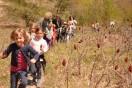Down the Path Kindergardeners at Houdek