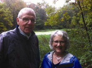 Barbara Richman and Gary Schulthiss