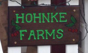 Hohnke sign