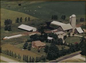 Kelenske Farm aerial circa not sure