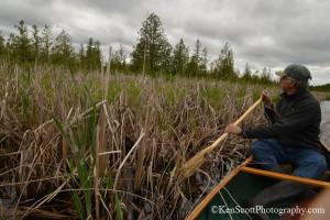 Ken Scott Brian n Price in canoe on Cedar river 20130602_5670